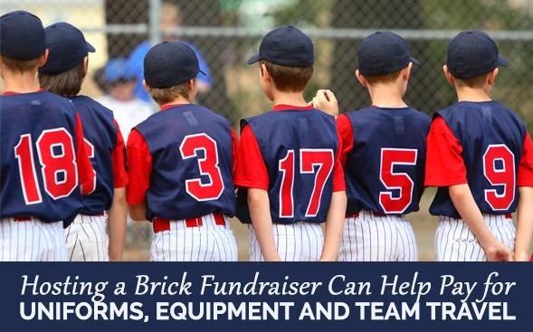 How Brick Fundraisers Help Sports Teams