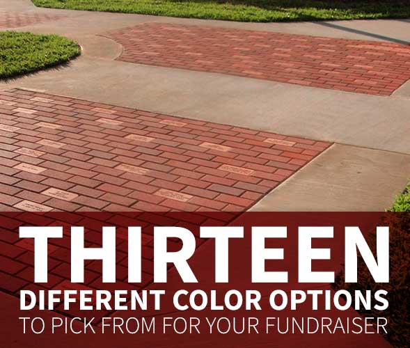 How to Pick a Brick Color for Your Fundraising Project