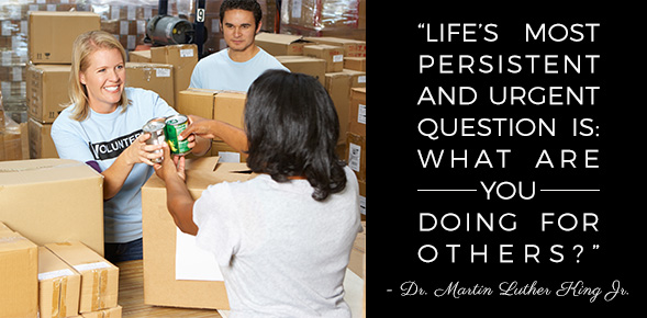 Get Involved with MLK Day of Service Through Volunteering