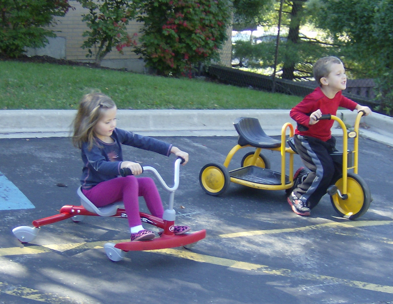Bethlehem Preschool Center Pave the Way to Play