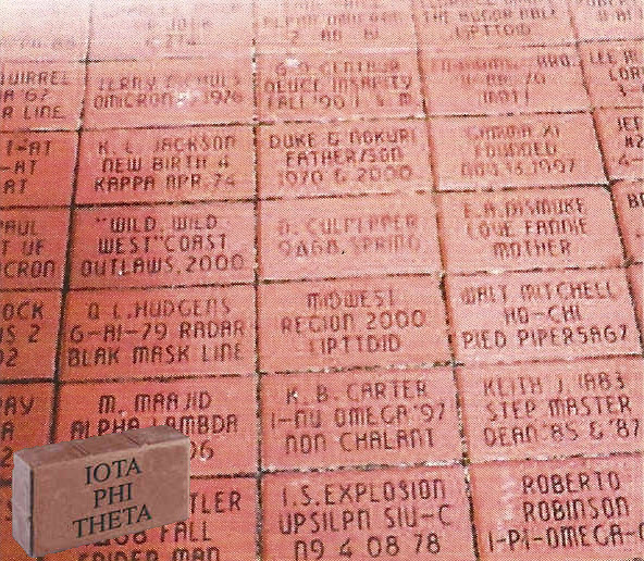 National Iota Foundation Founders' Hall Brick Campaign