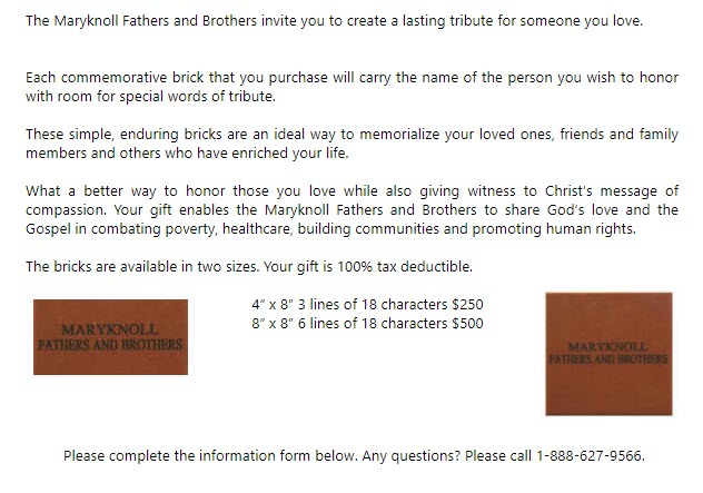 Maryknoll Fathers and Brothers