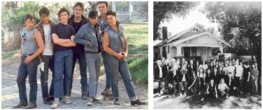 THE OUTSIDERS HOUSE MUSEUM ASSOCIATION
