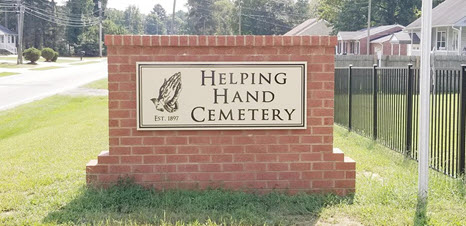helping hand cemetery club