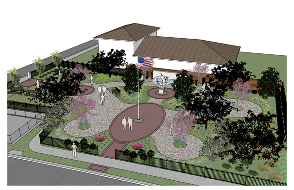 Eatonville Cultural and Heritage Foundation Veterans Memorial Butterfly Garden
