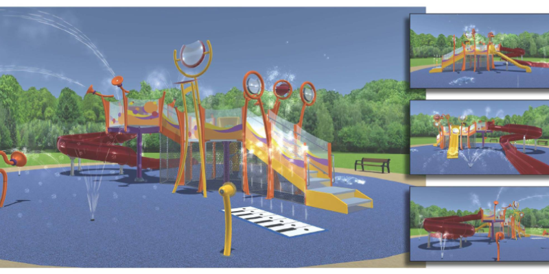 Milestown Community Improvement, Inc. Wibaux Park Splash Pad
