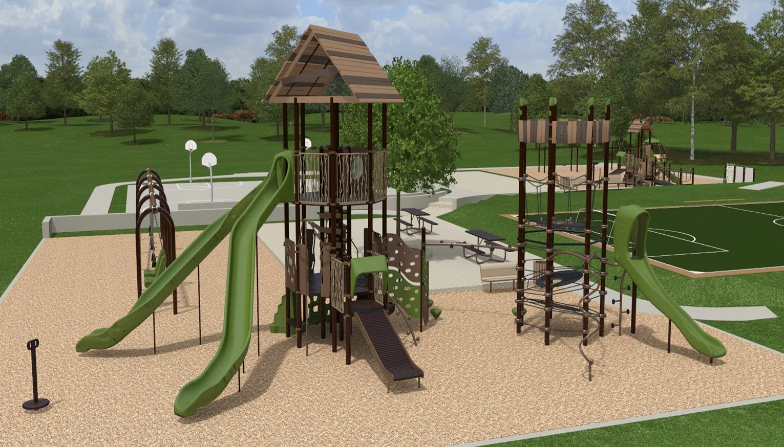 The Fountain Foundation Northwest Territory Community Playground