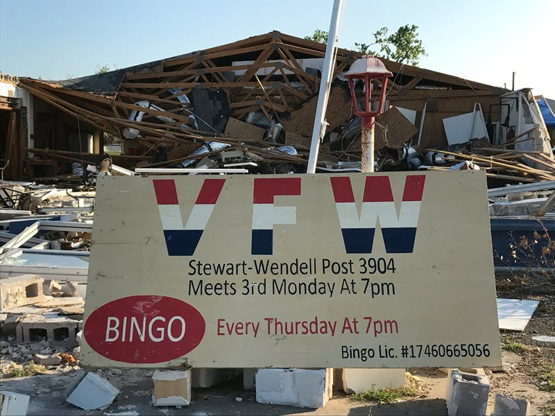 VFW Stewart-Wendell Post 3904 Rebuilding One Brick at A Time