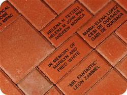 Engraved Bricks Bricks R Us Home