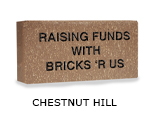 Belden engraved chestnut hill brick