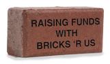 Hanson engraved concrete bricks