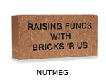 Belden engraved nutmeg brick