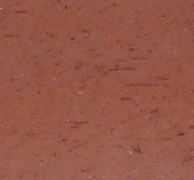 Standard engraved red brick