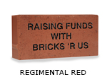 Belden engraved regimental red