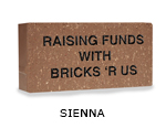 Belden engraved sienna brick