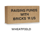 Belden engraved wheatfield brick