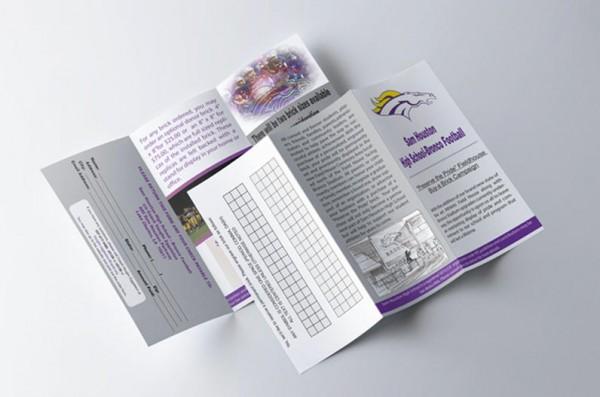brick fundraiser brochures
