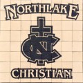 Engraved northlake christian logo brick