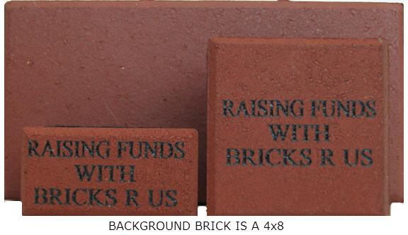Gift Bricks And Souvenir Bricks Fundraising Bricks R Us