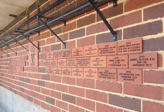 Valor Wall Of Engraved Bricks Bricks R Us