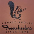 Engraved forest knolls freewheelers logo brick