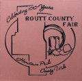 Engraved routt county fair logo brick