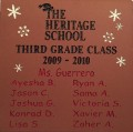 Engrave the heritage school logo brick