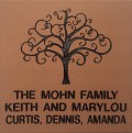 Engraved mohn family logo brick