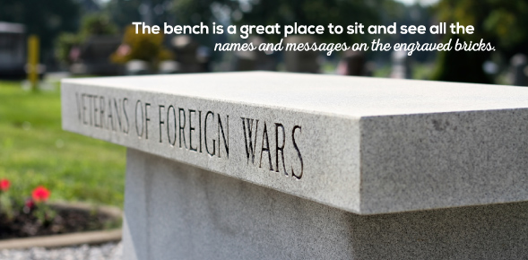 Engraved Memorial Bench A Perfect Addition To Your Project