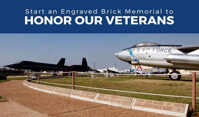 Engraved Bricks Project A Perfect Way To Honor Our Veterans