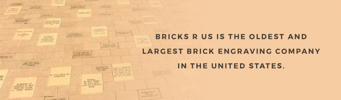Why We Love Personalized Brick Pavers